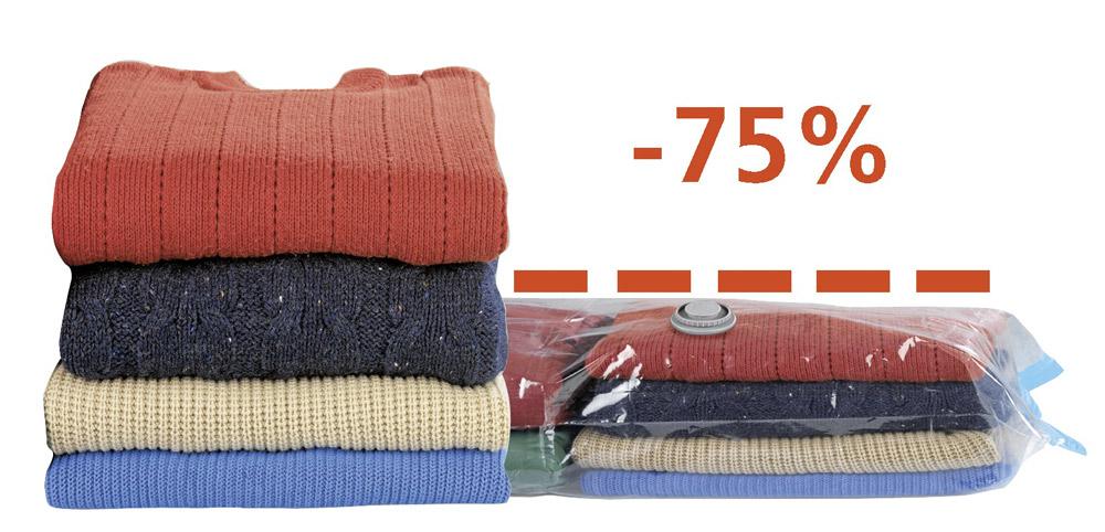 Pakowanie próżniowe odzieży sezonowej