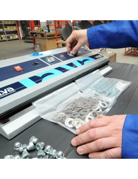 Pakowanie próżniowe części metalowych w workach RS-Vacuum