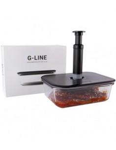 Marynowanie mięsa w szklanym naczyniu z serii G-line