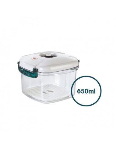 Pojemnik próżniowy Premium kwadratowy 650 ml