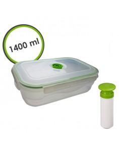 Pojemnik próżniowy śniadaniowy 1400 ml z pompką