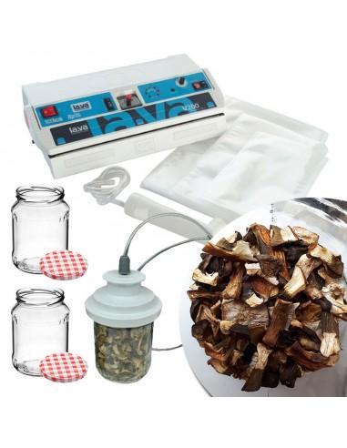 Zestaw LAVA do przechowywania grzybów